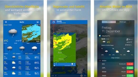 beste wetter App weatherpro Die 6 besten Wetter Apps für iPhone und iPad