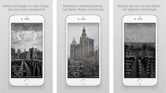 yahoo wetter Die 6 besten Wetter Apps für iPhone und iPad