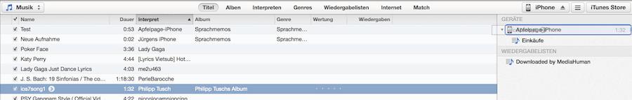 Bildschirmfoto 2014 02 14 um 19.55.21 iPhone Klingeltöne aus eigener Musik erstellen