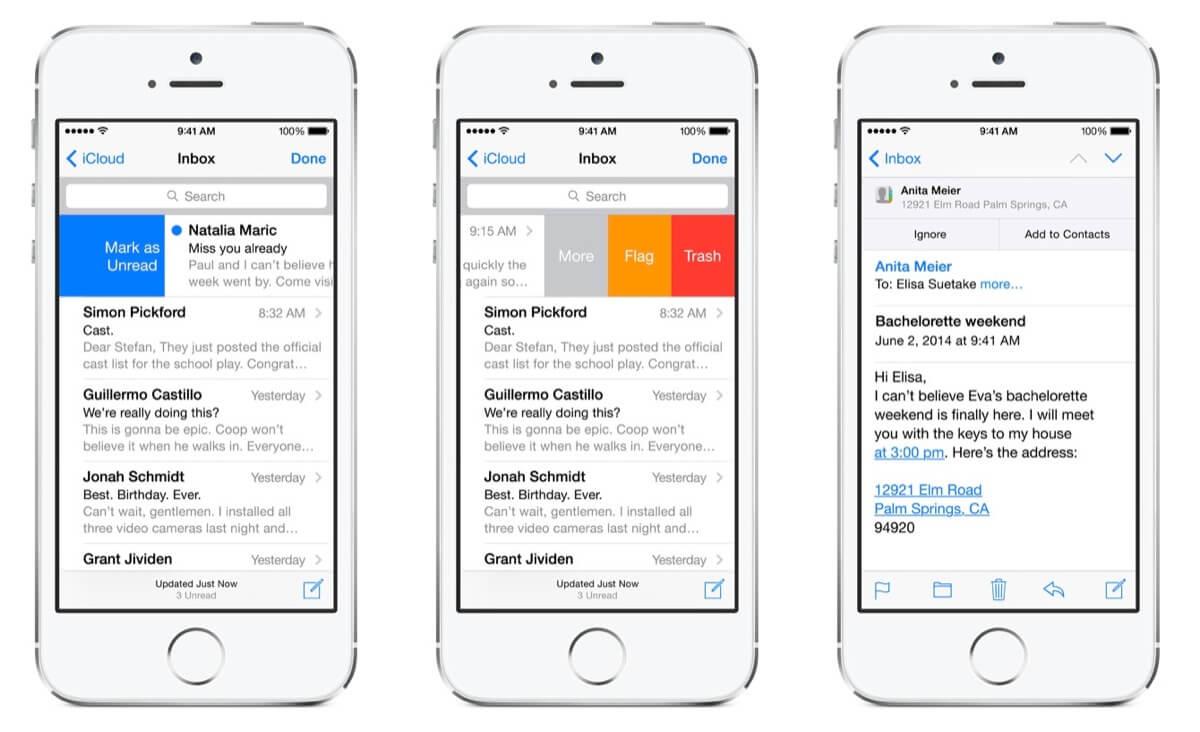 Mail app in ios 8 iphone ios alle mails auf einmal l 246 schen