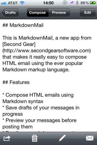 Markdown Mail