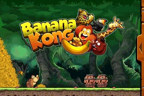 Banana Kong im Dschungel