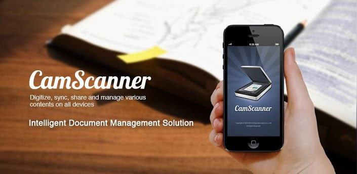 Mit CamScanner lassen sich kinderleicht Dokumente scannen