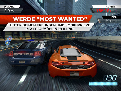 Das neue Need for Speed Most Wanted