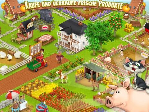 Hay Day - das unterhaltsame Farmer Spiel