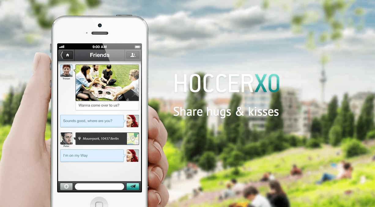 HOCCER XO - Der Messenger mit verschlüsselter Datenübertragung
