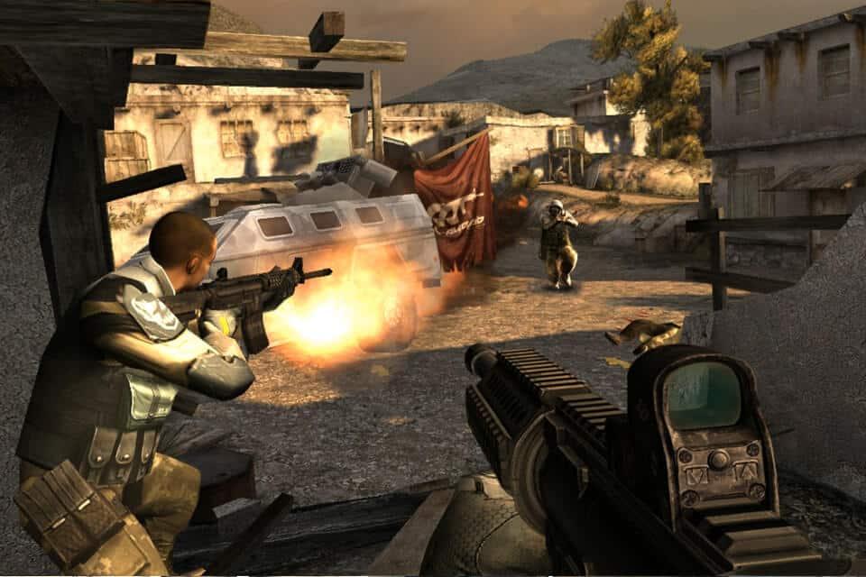 Mondern Combat 3: Fallen Nation für iPhone und iPad