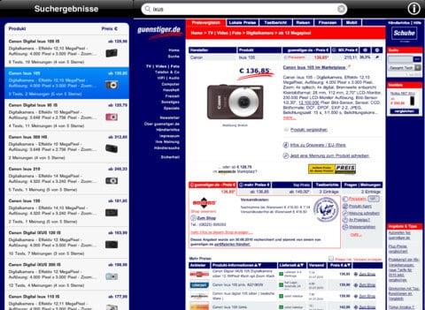 Produkte online vergleichen - günstiger.de