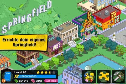 Errichte dein eigenes Springfield