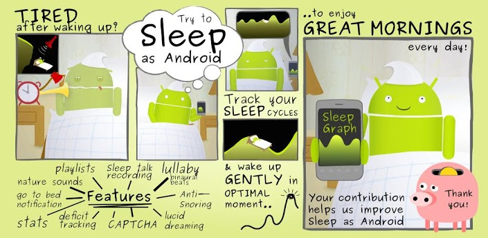 Sleep as Android unlock - Endlich gut Durchschlafen