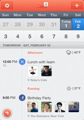 Sunrise - dein neuer digitaler Kalender