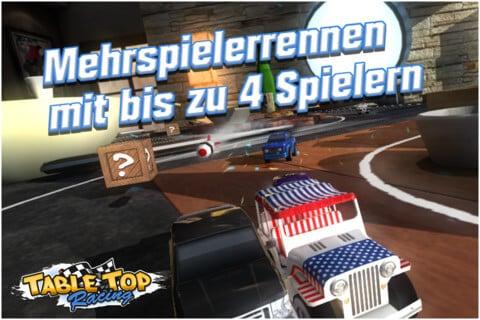 Table Top Racing im Mehrspieler-Modus