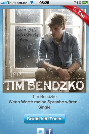 Tim Bendzko - Wenn Worte meine Sprache wären