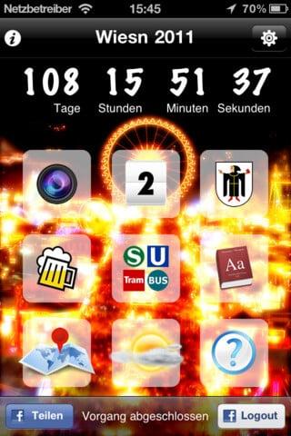 Wiesn 2011 - Die App zum Oktoberfest 2011