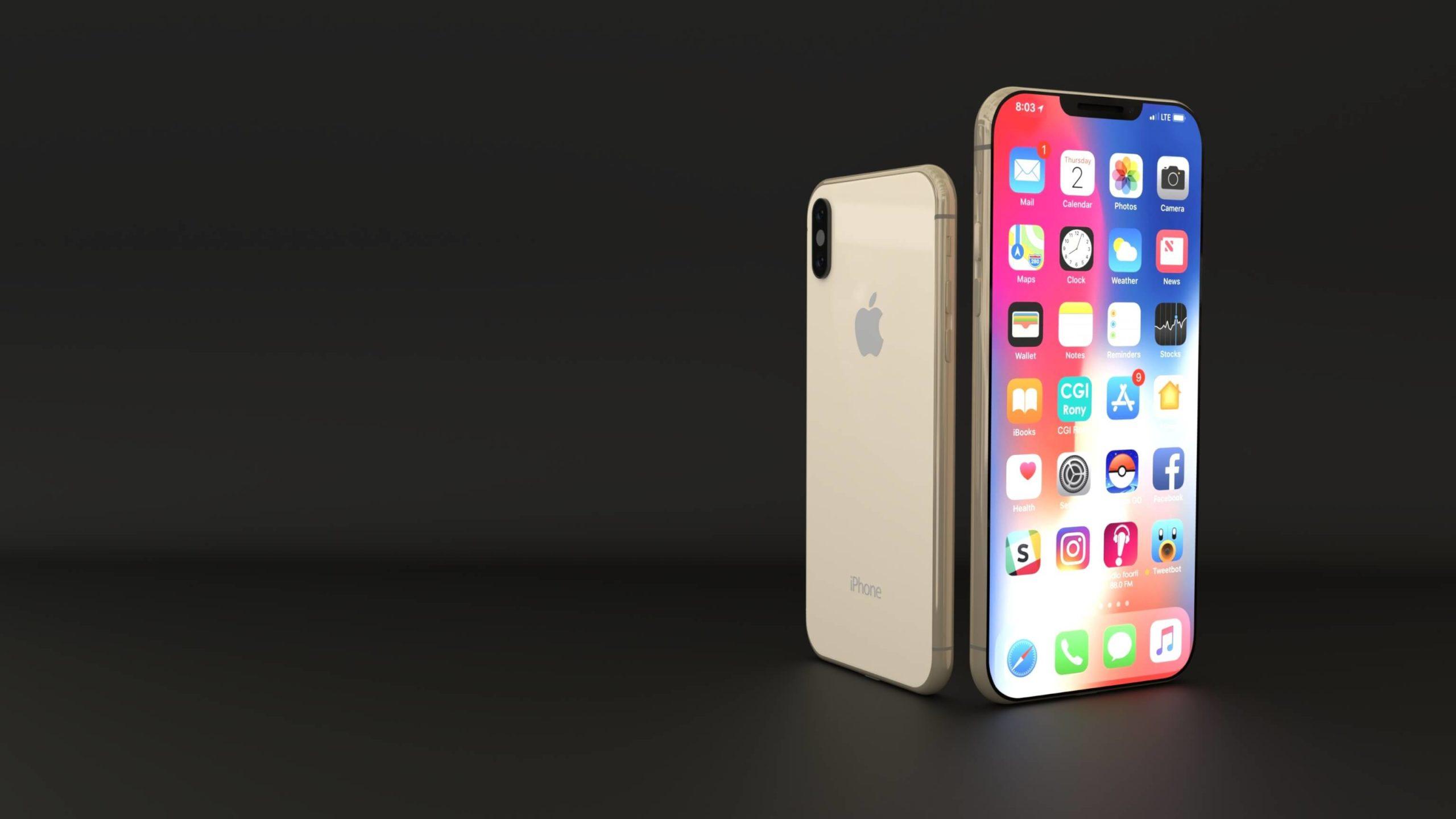 bildschirmgröße iphone xs