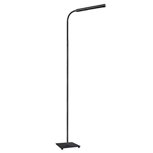 AUKEY LED Stehlampe, 9W touch Stehleuchte mit stufenlosem Dimmer, natürlich weißes augenschützendes Licht für Entspannen, Lesen, und Arbeiten