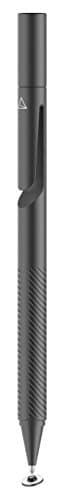 Adonit Jot Pro 3 Stylus für Apple iPhone/iPad/Android/Windows Geräte - schwarz [Aluminium Gehäuse | Druckempfindliche Spitze | Trageclip | Magnetkappe] - ADP3B