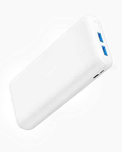 Anker PowerCore Lite 20000mAh Kompakte Powerbank, leistungsstarker Externer Akku, für iPhone X 8 8Plus 7 6S 6Plus, iPad, Samsung Galaxy und viele mehr (Weiß)