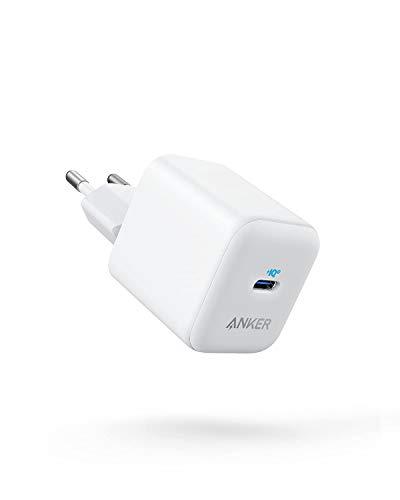 Anker PowerPort III USB-C Ladegerät 20W PIQ 3.0 Netzteil, kompatibel mit iPhone 12/12 mini/12 Pro/12 Pro Max/11, Galaxy, Pixel 4/3, iPad Pro, MagSafe, und mehr (Ladekabel Nicht inklusive)