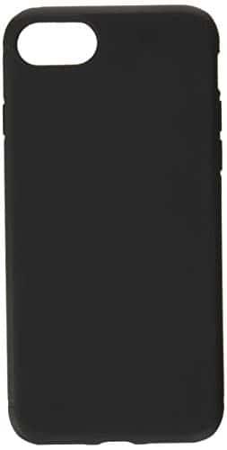 EasyAcc Hülle Case für iPhone 7 / iPhone 8, Schwarz TPU Telefonhülle Matte Oberfläche Handyhülle Schutzhülle Schmaler Telefonschutz Kompatibel mit das iPhone 7/8 4.7''