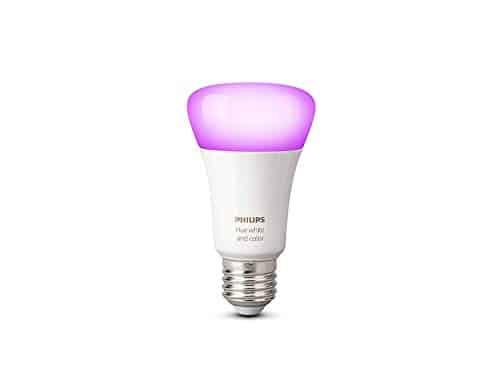 Philips Hue White & Color Ambiance E27 LED Lampe Erweiterung, 3. Generation, dimmbar, bis zu 16 Millionen Farben, steuerbar via App, kompatibel mit Amazon Alexa (Echo, Echo Dot) - 9.5W