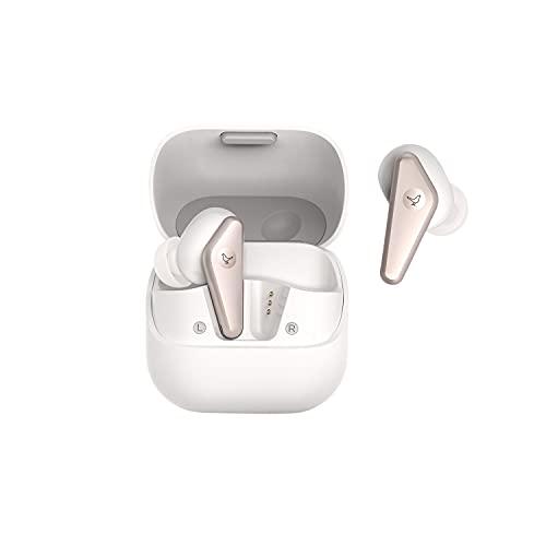 Libratone AIR+ (2. Gen) True Wireless In-Ear Kopfhörer mit Smarter Geräuschunterdrückung (bis zu 24h Akku, ANC, Smart Audio Tuning, Passformtest, IP54, Bluetooth 5.2) weiß/Gold