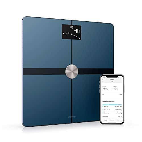 Withings / Nokia Body+ - WLAN-Körperwaage für Körperzusammensetzung, Schwarz