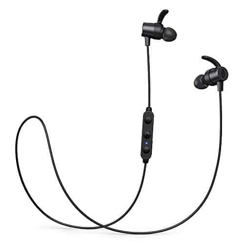 Bluetooth Kopfhörer in Ear,TaoTronics SoundElite 72 aptX HD Audio Bluetooth 5.0 Sportkopfhörer CVC8.0 Mikrofon IPX7 Wasserdicht 14 Stunden Wiedergabezeit 3 EQ Einstellungen Magnetisch Clip