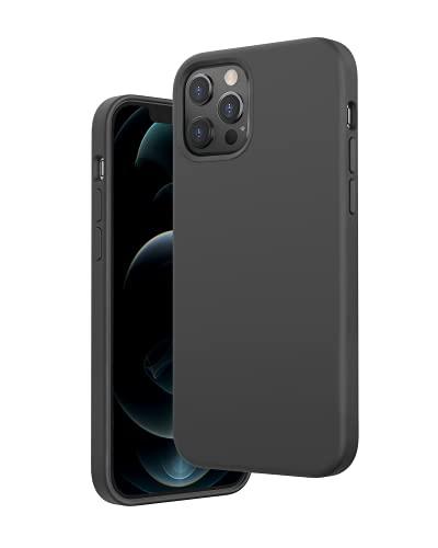 Anker Magnetic Silicone Case, Magnetische Schutzhülle aus Silikon, Kompatibel mit MagSafe Zubehör, mit 6,7 Zoll für iPhone 12 Max, Unterstützt MagSafe Wireless Charging