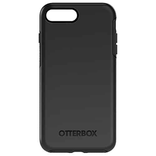 OtterBox Symmetry sturzsichere Schutzhülle für iPhone 7 Plus / 8 Plus, schwarz