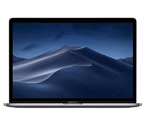 Apple MacBook Pro (15 Zoll, 2,6GHz 6‑Core Intel Corei7 Prozessor der 8.Generation, 512GB) - Space Grau (Vorgängermodell)