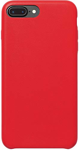 AmazonBasics schmale PU Hülle/Case für iPhone 7 Plus Rot