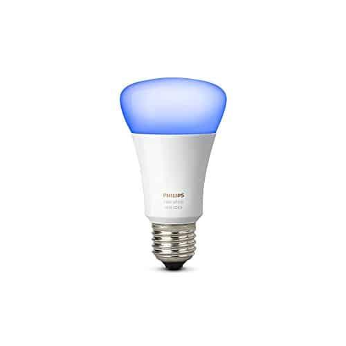 Philips Hue White und Color Ambiance E27 LED Lampe Erweiterung, 3. Generation, dimmbar, 50.000 Weißschattierungen, steuerbar via App, kompatibel mit Amazon Alexa (Echo, Echo Dot)