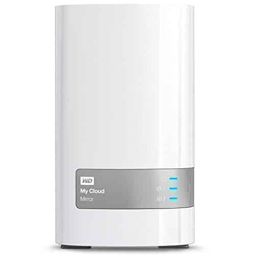 Western Digital 4TB (2x2TB) My Cloud Mirror Gen 2, NAS 2 Bay, Persönlicher Cloud Speicher, Media Server, Backup, Handy und Tablet Sicherung, Syncronisations Software