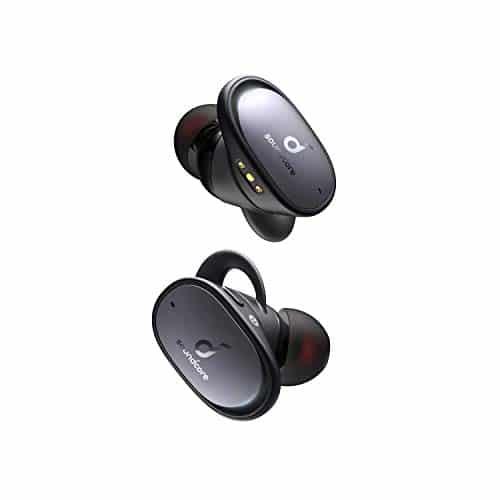 Soundcore by Anker Liberty 2 Pro, True Wireless In-Ear Kopfhörer, Bluetooth Ohrhörer, Astria Coaxial Acoustic Architecture, 32 Std Akku, personalisierter EQ, HearID, kabelloses Laden(Schwarz)