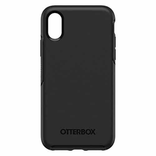 OtterBox Symmetry sturzsichere Schutzhülle für iPhone X/Xs, schwarz