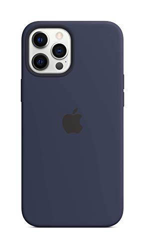 Apple SilikonCase mit MagSafe (für iPhone 12 Pro Max) - Dunkelmarine