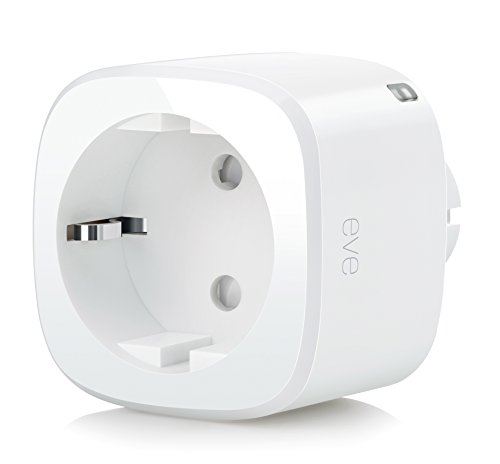 Elgato Eve Energy - Kabelloser Stromsensor & Schalter mit Apple HomeKit-Unterstützung, Bluetooth Low Energy, TÜV zertifiziert