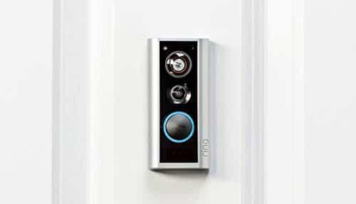 Ring Door View Cam | Video-Türklingel, die Ihren Türspion durch ein 1080p-HD-Video mit Gegensprechfunktion ersetzt | Für Türenstärke 34mm bis 55mm | Mit 30-tägigem Testzeitraum für Ring Protect