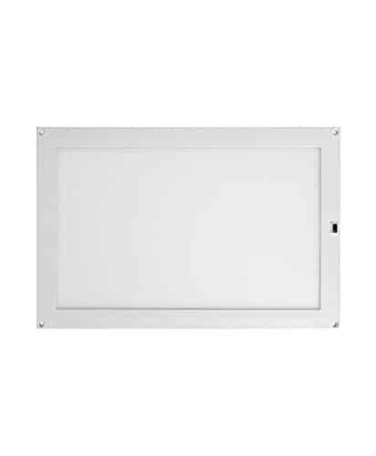 Osram LED Cabinet Panel Double Unterbau-Leuchte, für innenanwendungen, Warmweiß, integrierter Sweep - Sensor, Länge: 30x20 cm