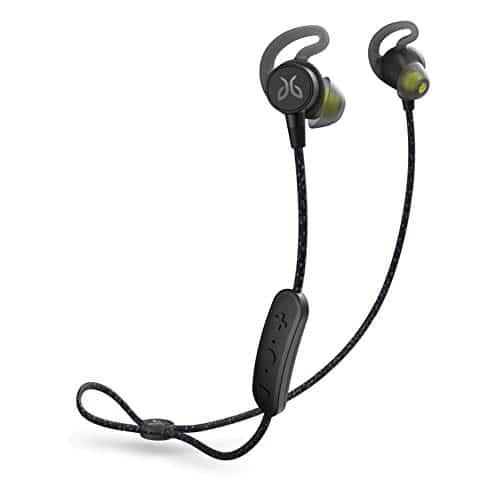 Jaybird Tarah Pro Kabellose In-Ear Kopfhörer mit Mikrofon, Bluetooth, Schweißbeständig und Wasserdicht, 14-Stunden Akkulaufzeit, Silikon-Gelkissen, Smartphone/Tablet/iOS/Android - Schwarz/Grün