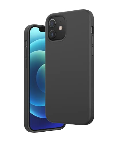 Anker Magnetic Silicone Case, Magnetische Schutzhülle aus Silikon, Kompatibel mit MagSafe Zubehör, mit 5,4 Zoll für iPhone 12 Mini, Unterstützt MagSafe Wireless Charging