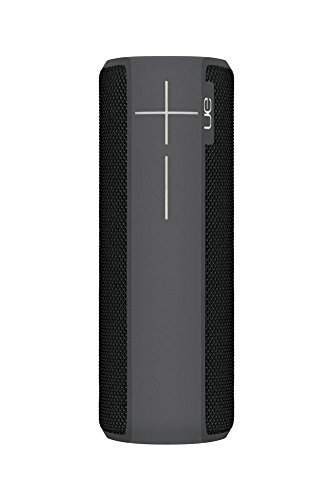 Ultimate Ears BOOM 2 Kabelloser Bluetooth Lautsprecher (Wasserfest und Stoßfest) Obsidian