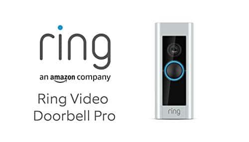 Ring Video Doorbell Pro mit Festverdrahtung von Amazon | Einschließlich Chime (1. Gen.), 1080p HD-Video, Gegensprechfunktion, Bewegungserfassung, WLAN | Mit 30-tägigem Testzeitraum für Ring Protect