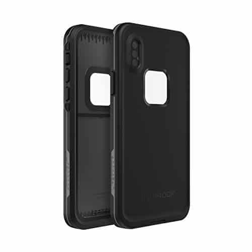 LifeProof Fre sturzsichere Schutzhülle für iPhone X/Xs Noir, schwarz