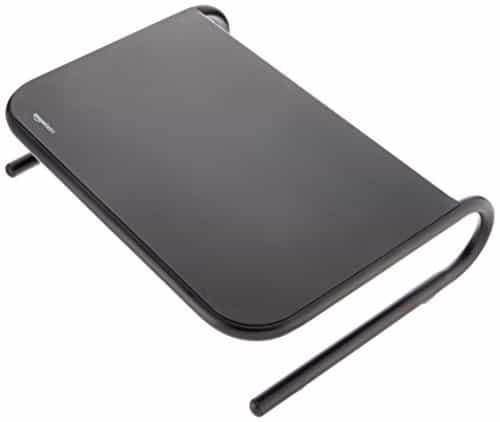 AmazonBasics Bildschirmständer, Metall schwarz