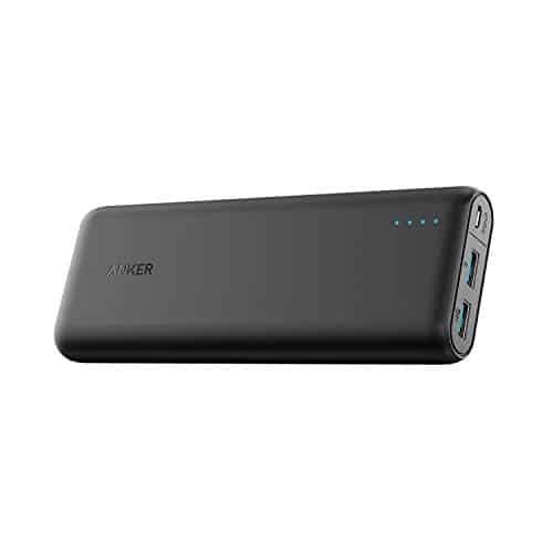 Anker PowerCore Speed 20000, Qualcomm Quick Charge 3.0 Zusatzakku, Abwärtskompatibel mit Quick Charge 1 & 2, mit PowerIQ, 20000 mAh Powerbank für Samsung, iPhone, iPad und viele mehr