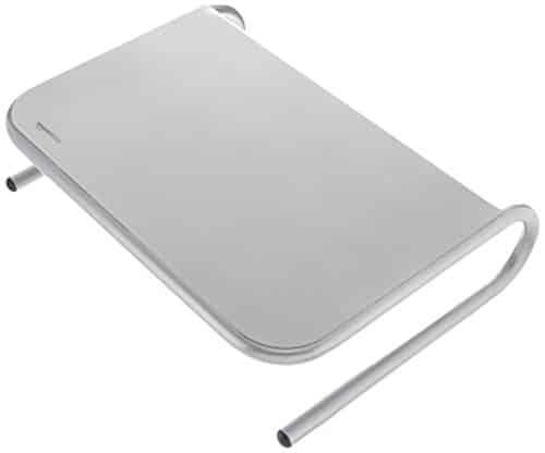 AmazonBasics Bildschirmständer, Metall silber