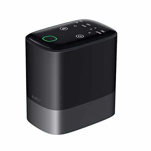 AUKEY Bluetooth 5.0 Transmitter Empfänger 2-in-1, 50m Wirelss Audio Adapter mit aptx-LL, Digital Optical Toslink, RCA und 3,5mm AUX Kable für TV, Kopfhörer, Heim Stereoanlage Soundsysteme etc