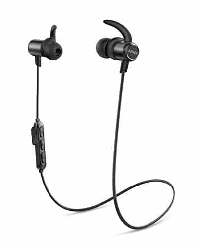 Anker Soundbuds Slim Bluetooth Kopfhörer, Kabellose In-Ear Kopfhörer mit 10 Stunden Akkulaufzeit, IPX7 Wasserschutzklasse, Bluetooth 5.0 und Erstklassiger Sound